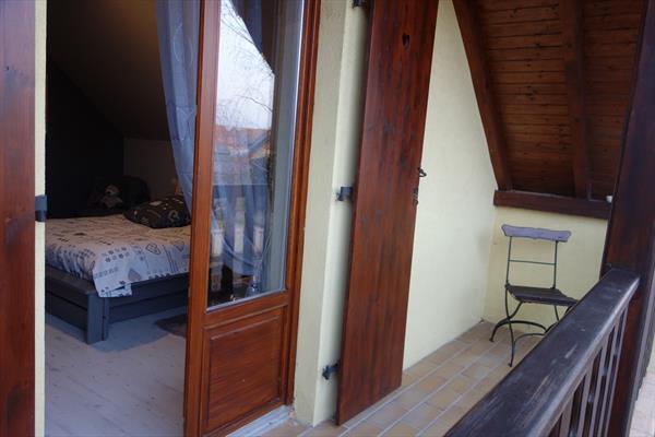 la chambre avec balcon - @ OT Grand Ried