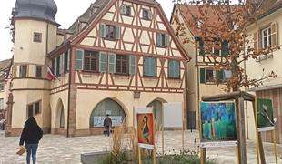 Exposition d'art en plein air