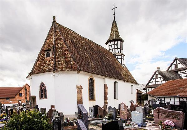 Extérieur Chapelle Hindisheim - © PCR