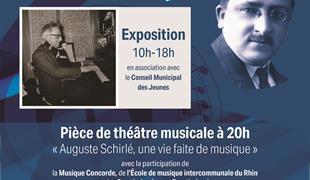 Gedenken an den 50. Todestag von Auguste Schirlé (Ausstellung und Theater)