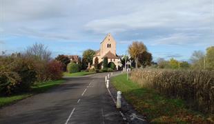 Führung und Wohlfahrtsort der St Ludans Kirche