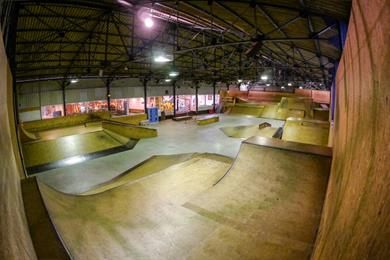 Bowl d'Hag - Skatepark indoor