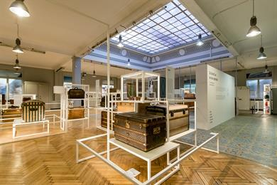 "Baggage Museum - Exhibition ""From Grand Tour to Tour Operator"""