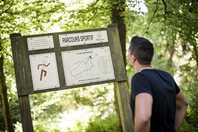Gezondheidspad - Het wandelpad van de Gros-Chêne