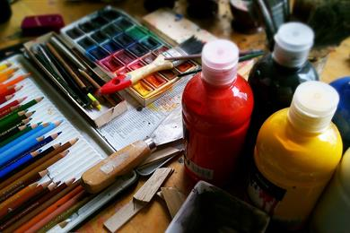 Acrylic painting courses