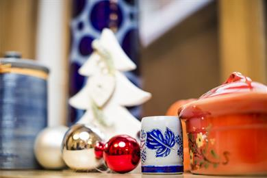 Noël à la maison illuminée