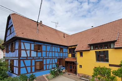 Guest house - The blue house