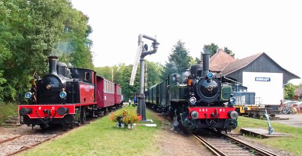 Trains à vapeur
