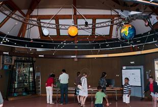 Model planetarium