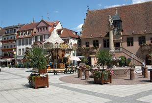 Circuit de ville Parcours dans la vieille ville de Molsheim