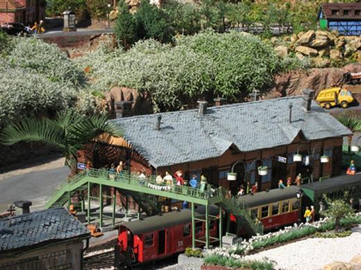 Train Miniature de jardin S'Molshemer Bahnele