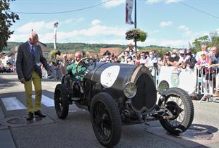 Bugatti festival on Sunday