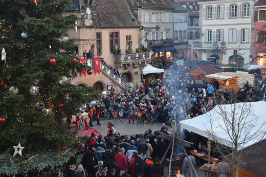 Noël d'Antan à Molsheim - combat de chevaliers