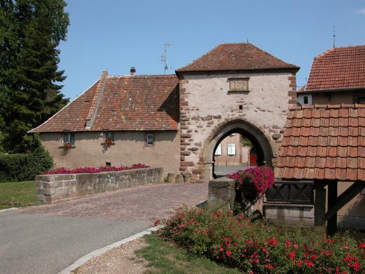 Porte de Dachstein - Crédit photo : Office de Tourisme de la Région de Molsheim-Mutzig