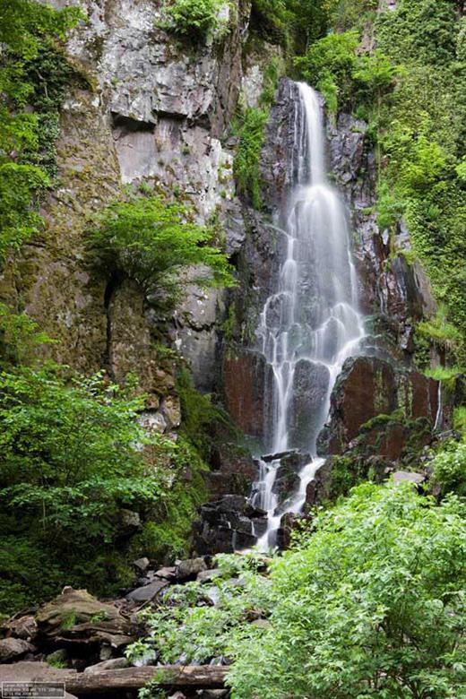 Les cascades du Nideck à Oberhaslach - Crédit photo : Office de Tourisme de la Suisse d'Alsace