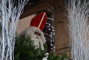 Besuch vom Sankt Nikolaus