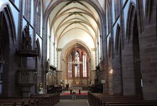 La Collégiale de Niederhaslach - Chemins d'art sacré en Alsace