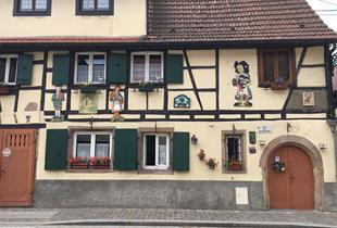 Maison insolite rue des Tanneurs