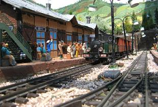 Train Miniature de jardin S'Molshemer Bahnele