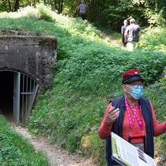 Visite guidée de l'emplacement du Grand Canon - Zillisheim - © © Association de Préservation et de Valorisation du Site du Grand Canon de Zillisheim