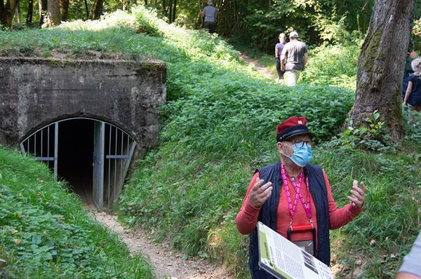 Führung durch das Gelände des Grand Canon - Zillisheim