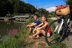 Vélo le long de l'euro vélo 6
