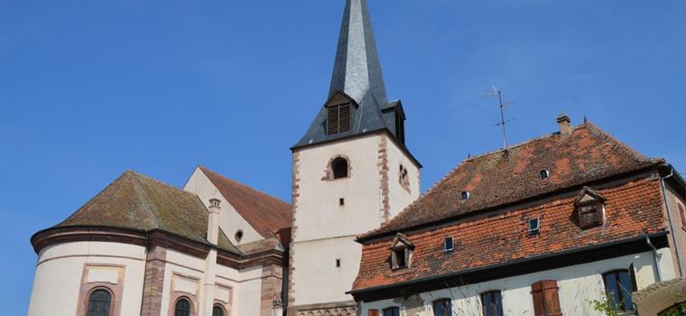 Le clocher du 13e siècle - ©D.Wolff