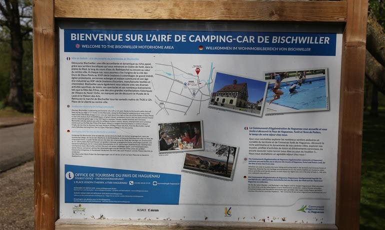 Aire de services camping-cars - ©VilledeBischwiller