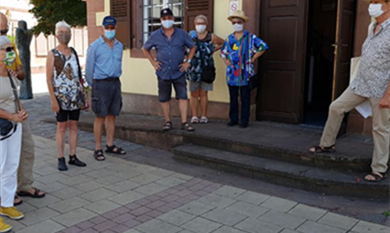 Visite guidée de la ville en allemand - ©VilledeBischwiller