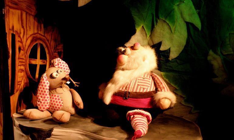 Spectacle de marionnettes Qui ça, moi...Père Noël ?