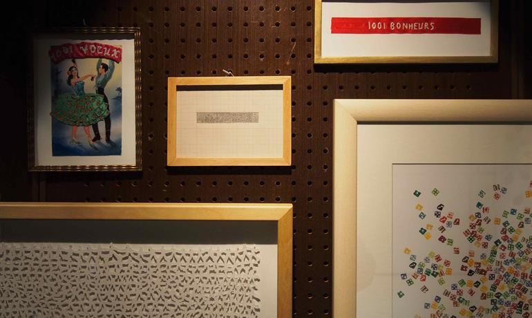 """Exposition """"1001"""" de Corine Kleck et Véronique Moser"""