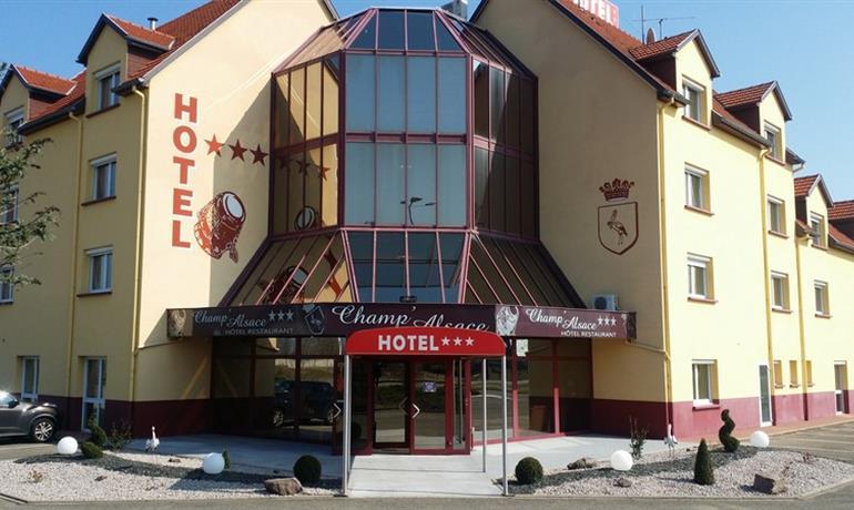 Hotel - Champ'Alsace Flugplatz