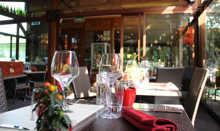 Restaurant - Le Jardin de Bacchus