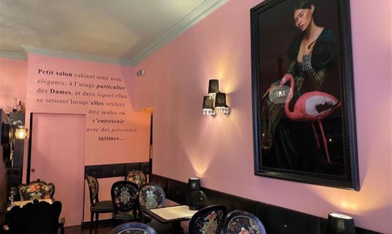 Salon de Thé - Le Boudoir - Sophie Robert