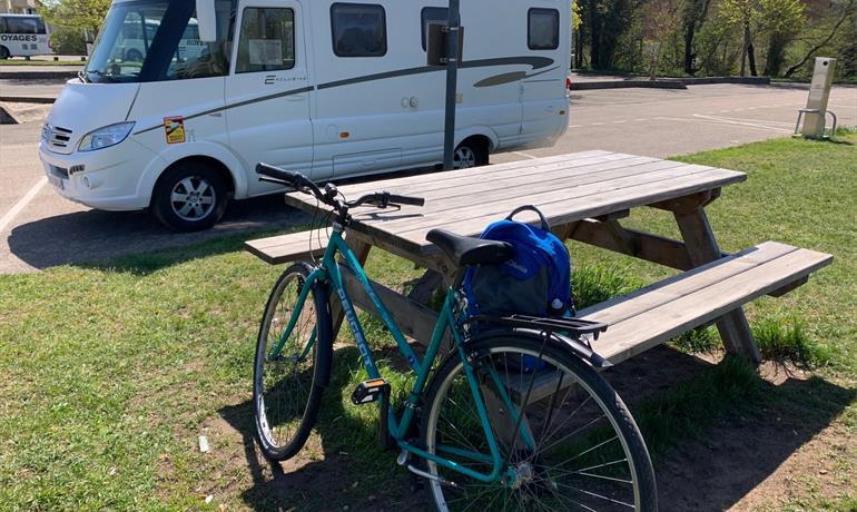 Aire de services camping-cars - OTP