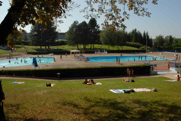 La piscine en plein air d'Altkirch