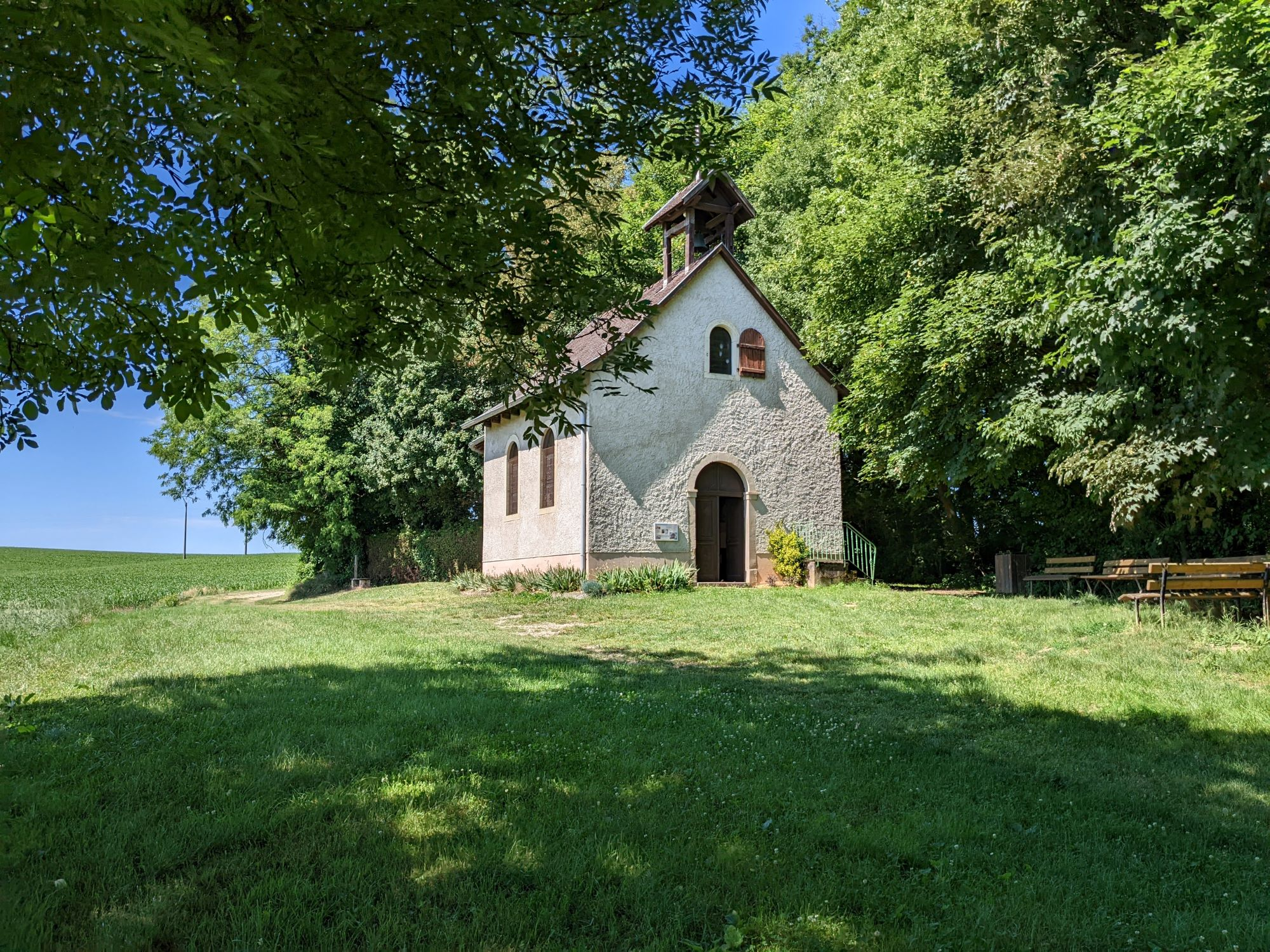 La chapelle de la litten littenkapelle aspach - Office du tourisme altkirch ...