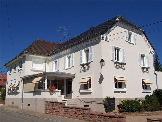 Hotel restaurant at Cheval Blanc Diefmatten