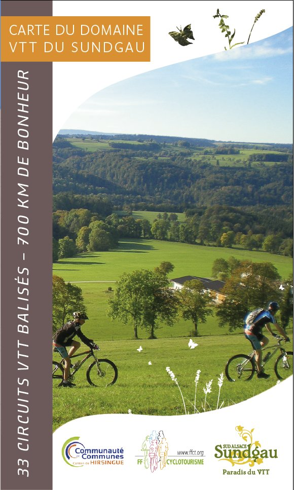 Karte mtb region sundgau altkirch - Office du tourisme altkirch ...