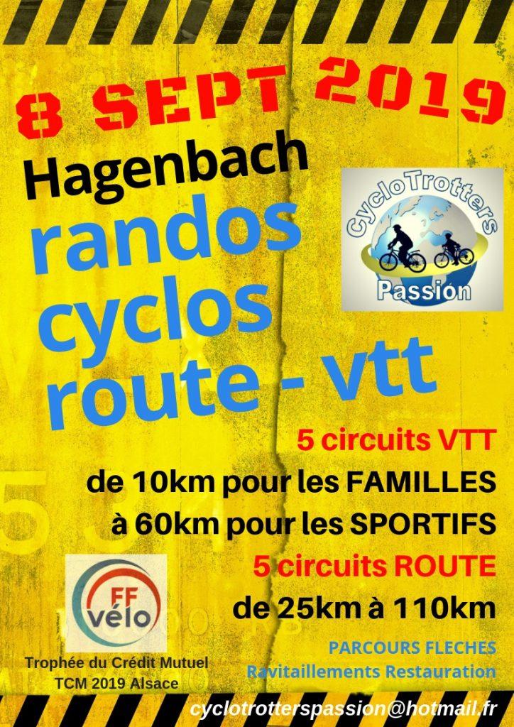 Rando Cyclo Route et VTT des Cyclotrotters d'Hagenbach