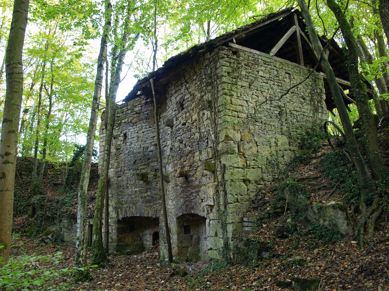 Wittersdorf old lime kiln