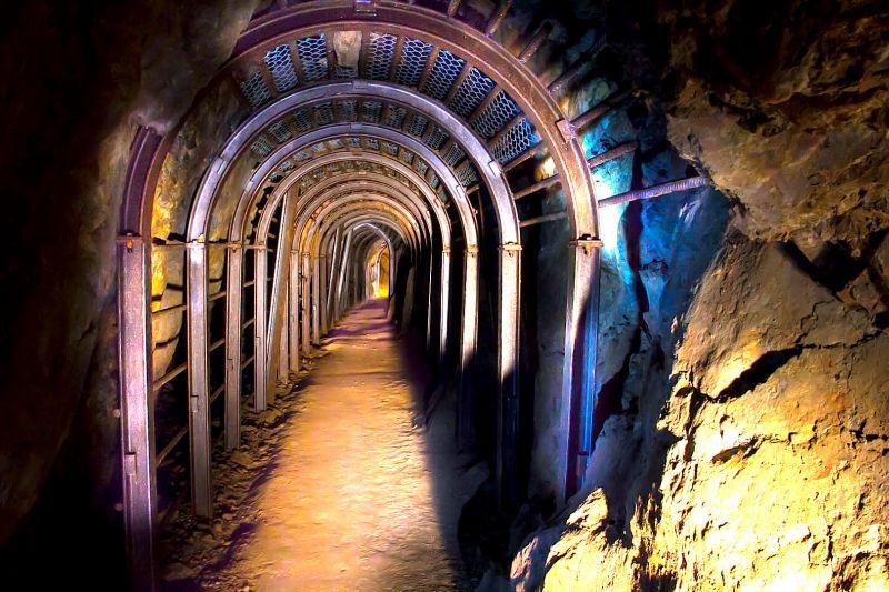 Tellure, silver mine