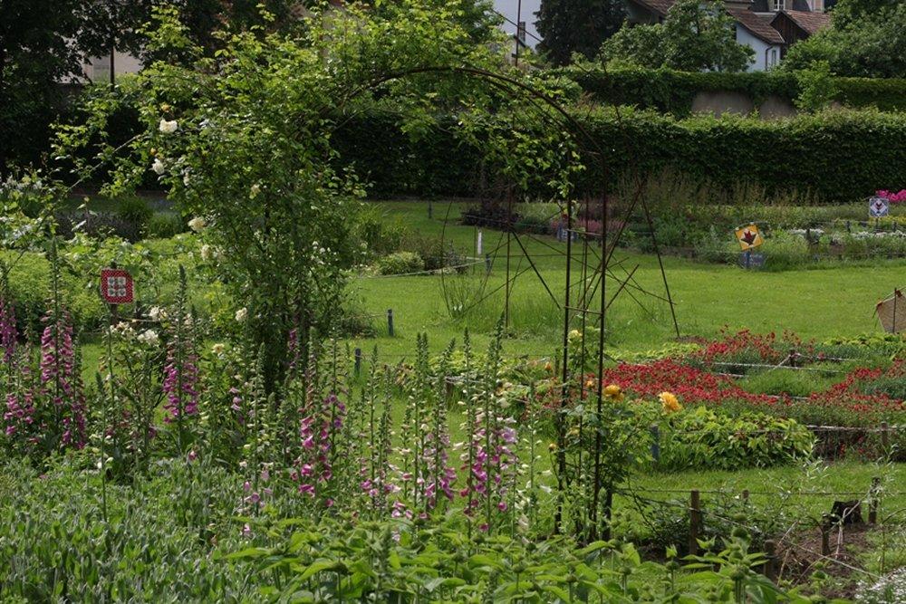 les jardins du parc de la villa burrus sainte croix aux. Black Bedroom Furniture Sets. Home Design Ideas