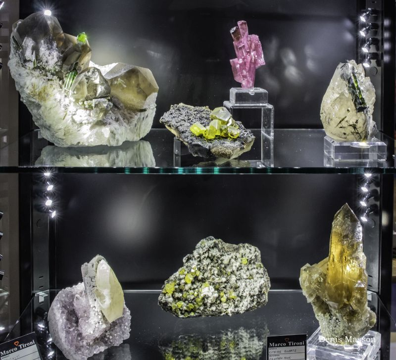 International mineral, gem and fossil market