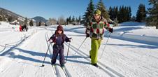Ski de fond aux Bagenelles