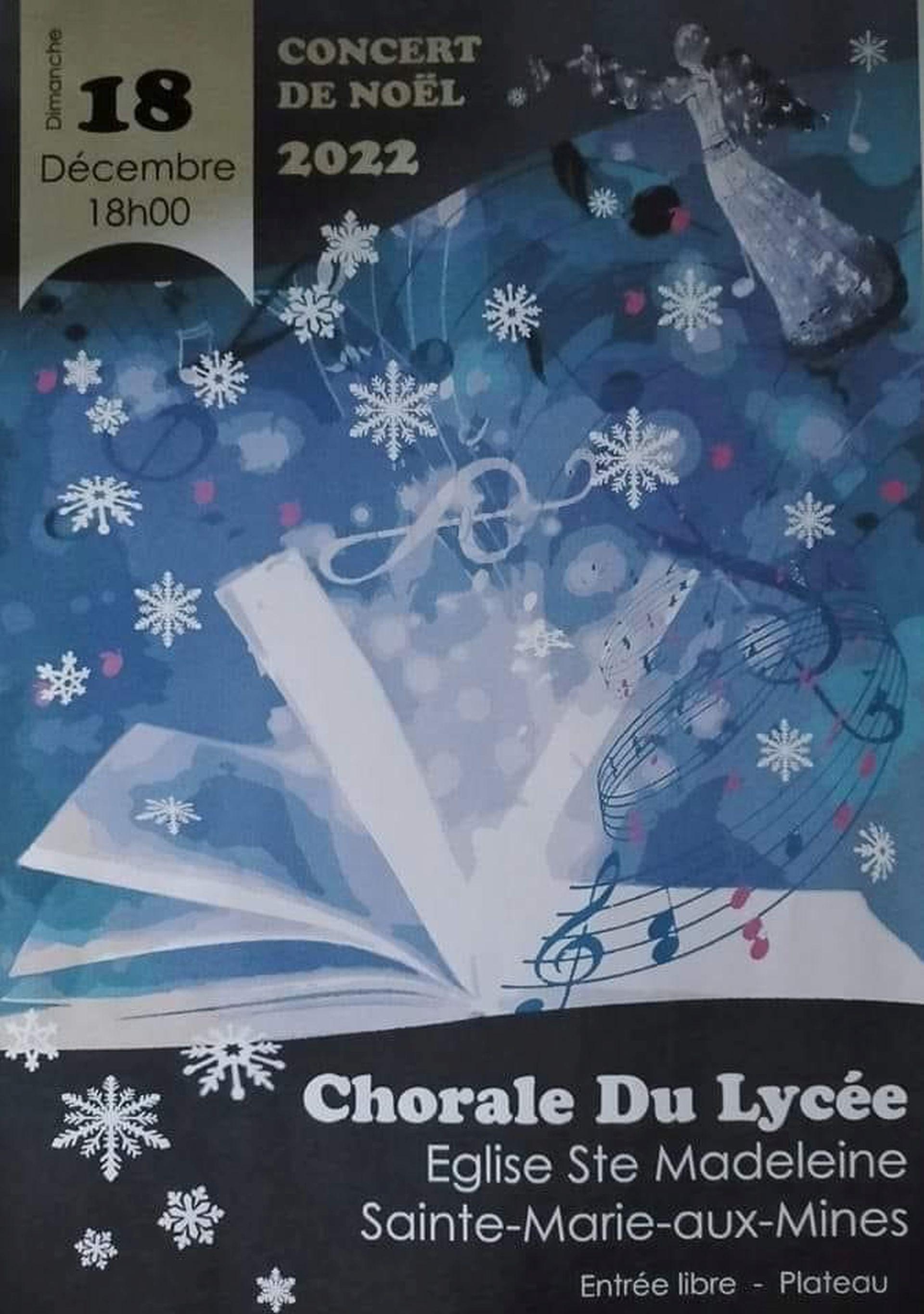Concert de printemps de la Chorale du Lycée