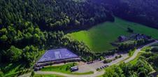Visite spéléologique Colonne Saint-Jean au Parc Tellure