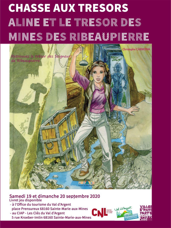 Chasse aux trésors : sur les pas d'Aline et du trésor des Ribeaupierre