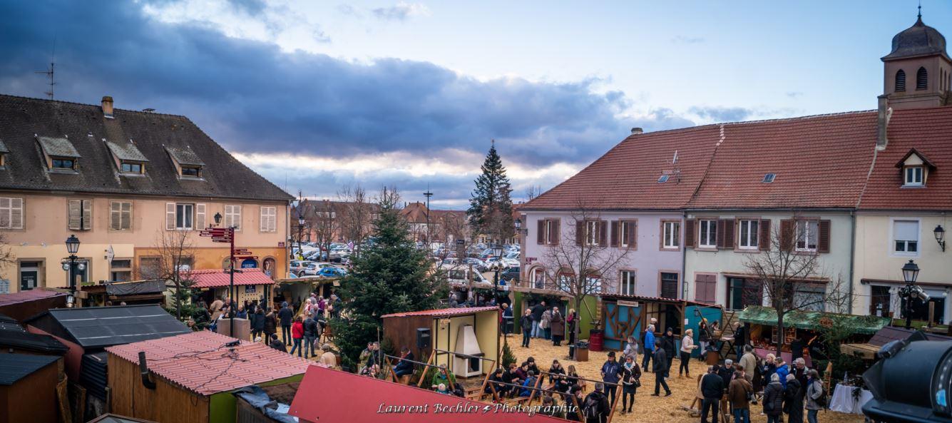 Marché de Noël d'Antan - Village 1700