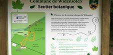 Le sentier botanique de Widensolen